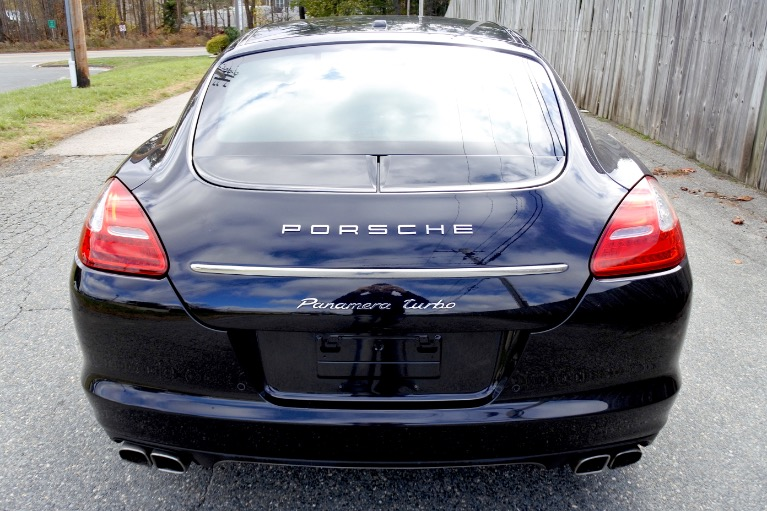 Used 2010 Porsche Panamera Turbo AWD Used 2010 Porsche Panamera Turbo AWD for sale  at Metro West Motorcars LLC in Shrewsbury MA 4