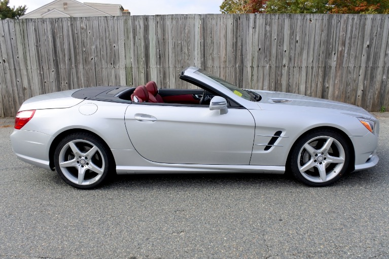 Used 2015 Mercedes-Benz Sl-class SL400 AMG Roadster Used 2015 Mercedes-Benz Sl-class SL400 AMG Roadster for sale  at Metro West Motorcars LLC in Shrewsbury MA 11