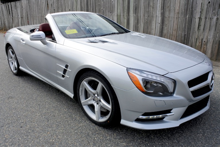 Used 2015 Mercedes-Benz Sl-class SL400 AMG Roadster Used 2015 Mercedes-Benz Sl-class SL400 AMG Roadster for sale  at Metro West Motorcars LLC in Shrewsbury MA 13