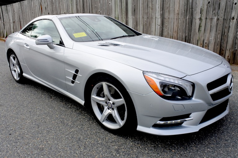 Used 2015 Mercedes-Benz Sl-class SL400 AMG Roadster Used 2015 Mercedes-Benz Sl-class SL400 AMG Roadster for sale  at Metro West Motorcars LLC in Shrewsbury MA 14
