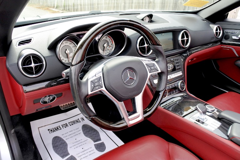 Used 2015 Mercedes-Benz Sl-class SL400 AMG Roadster Used 2015 Mercedes-Benz Sl-class SL400 AMG Roadster for sale  at Metro West Motorcars LLC in Shrewsbury MA 21