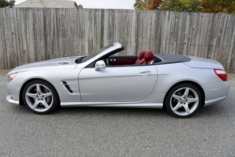 Used 2015 Mercedes-Benz Sl-class SL400 AMG Roadster Used 2015 Mercedes-Benz Sl-class SL400 AMG Roadster for sale  at Metro West Motorcars LLC in Shrewsbury MA 3