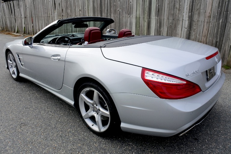 Used 2015 Mercedes-Benz Sl-class SL400 AMG Roadster Used 2015 Mercedes-Benz Sl-class SL400 AMG Roadster for sale  at Metro West Motorcars LLC in Shrewsbury MA 5