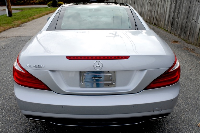 Used 2015 Mercedes-Benz Sl-class SL400 AMG Roadster Used 2015 Mercedes-Benz Sl-class SL400 AMG Roadster for sale  at Metro West Motorcars LLC in Shrewsbury MA 8