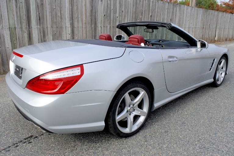 Used 2015 Mercedes-Benz Sl-class SL400 AMG Roadster Used 2015 Mercedes-Benz Sl-class SL400 AMG Roadster for sale  at Metro West Motorcars LLC in Shrewsbury MA 9