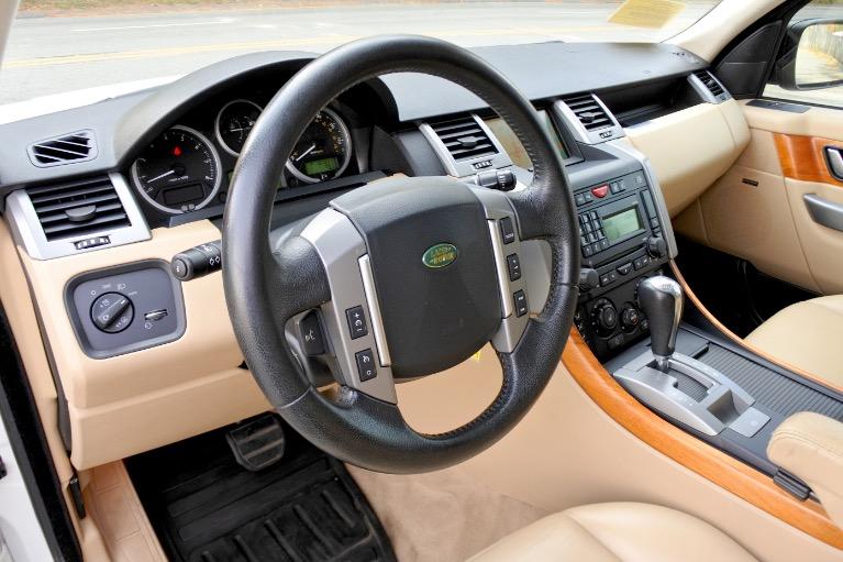 Used 2008 Land Rover Range Rover Sport HSE Used 2008 Land Rover Range Rover Sport HSE for sale  at Metro West Motorcars LLC in Shrewsbury MA 13