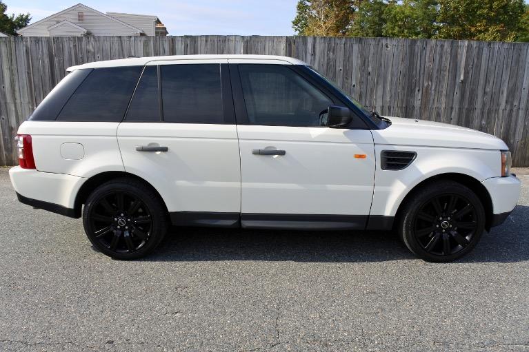 Used 2008 Land Rover Range Rover Sport HSE Used 2008 Land Rover Range Rover Sport HSE for sale  at Metro West Motorcars LLC in Shrewsbury MA 6