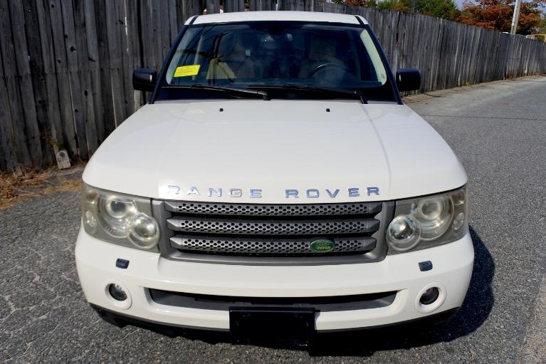 Used 2008 Land Rover Range Rover Sport HSE Used 2008 Land Rover Range Rover Sport HSE for sale  at Metro West Motorcars LLC in Shrewsbury MA 8