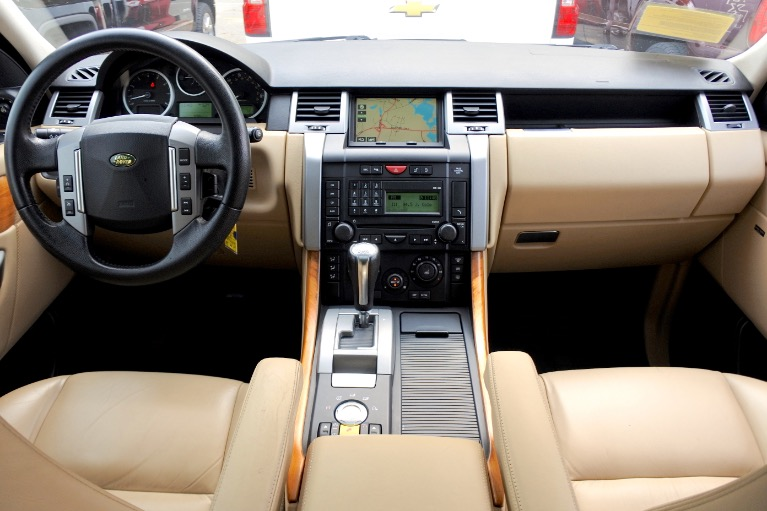 Used 2008 Land Rover Range Rover Sport HSE Used 2008 Land Rover Range Rover Sport HSE for sale  at Metro West Motorcars LLC in Shrewsbury MA 9