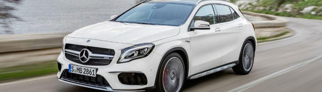 White 2018 Mercedes-Benz GLA